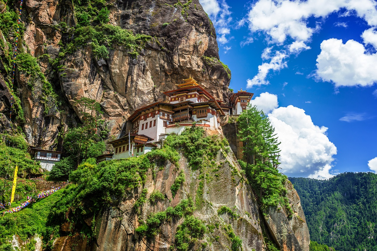 Tiger's Nest in Bhutan.