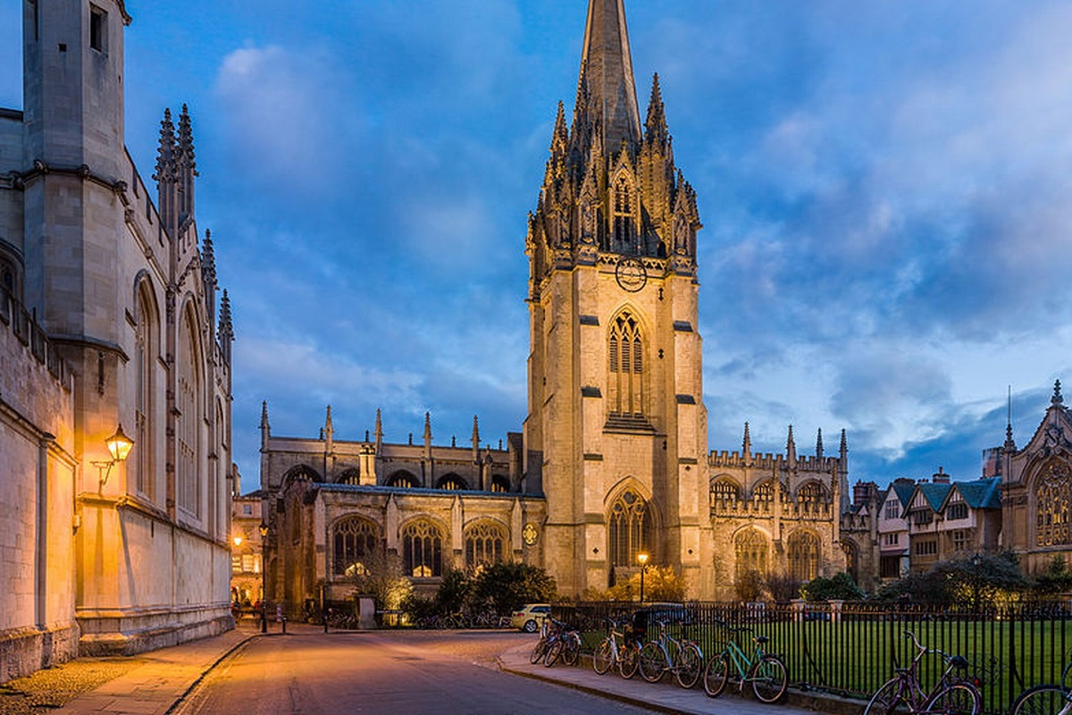The University Church of St. Mary the Virgin at Oxford