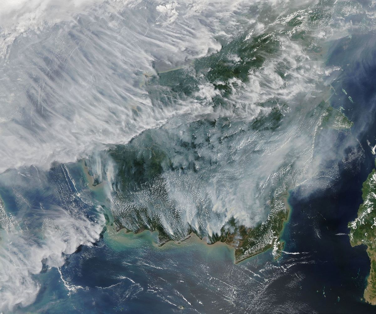 After several relatively quiet fire seasons in Indonesia, an abundance of blazes in Kalimantan (part of Borneo) and Sumatra in September 2019 has blanketed the region in a pall of thick, noxious smoke.