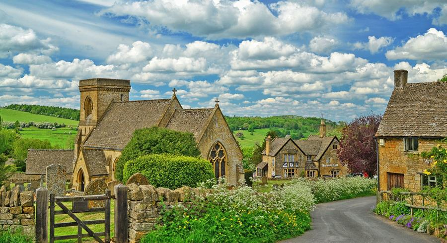 A village in the Cotswolds.