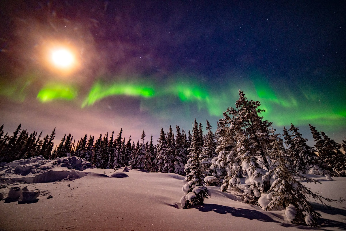 Northern lights in Churchill