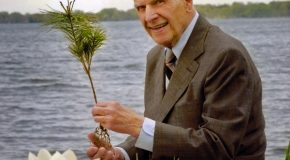 Earth Day's 50th Anniversary: An Encounter with its Founder
