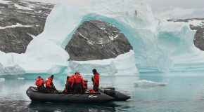 Watching Icebergs in Greenland